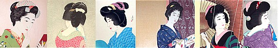 Japanese antique vintage hair accesories collection. The Japonic Online Store