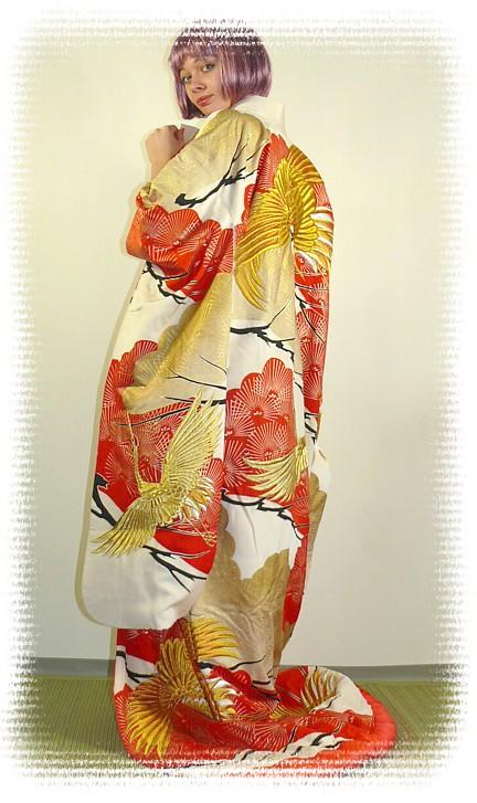 Japanese Traditional Wedding Kimono 1930 S Women Kimonos